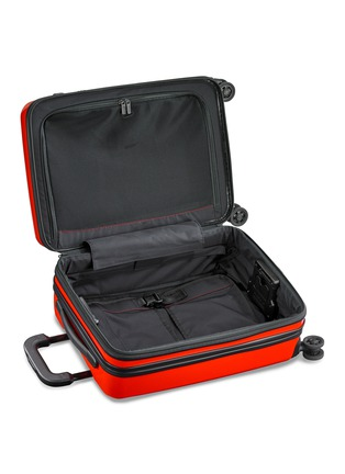 Detail View - Click To Enlarge - BRIGGS & RILEY - Sympatico carry-on expandable spinner suitcase – Red