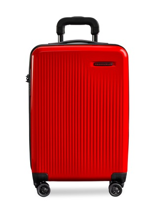 Main View - Click To Enlarge - BRIGGS & RILEY - Sympatico carry-on expandable spinner suitcase – Red