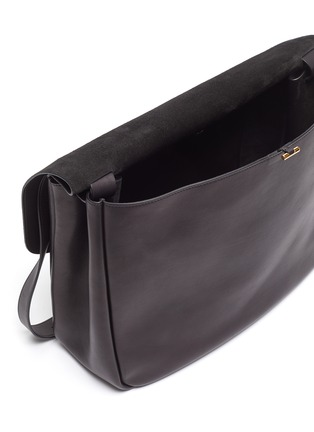 Detail View - Click To Enlarge - THE ROW - 'Mail' leather shoulder bag