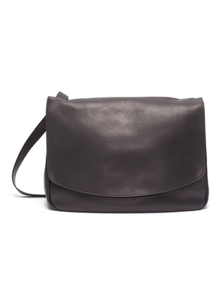Main View - Click To Enlarge - THE ROW - 'Mail' leather shoulder bag