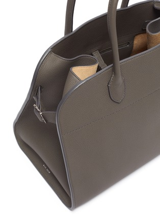 Detail View - Click To Enlarge - THE ROW - 'Margaux 15' top handle leather bag