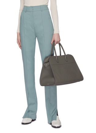 Figure View - Click To Enlarge - THE ROW - 'Margaux 15' top handle leather bag