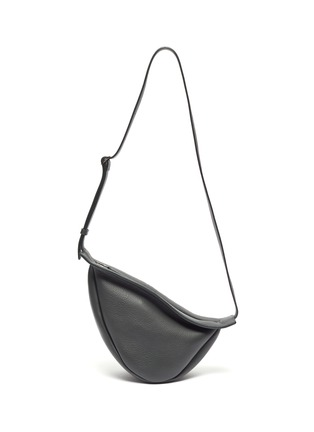 Main View - Click To Enlarge - THE ROW - 'Slouchy Banana' small leather bag