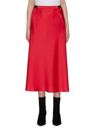 Main View - Click To Enlarge - CHRISTOPHER ESBER - Maxi satin skirt