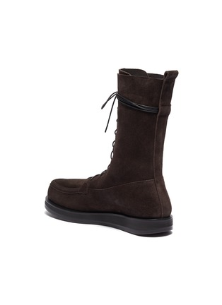 - THE ROW - 'Patty' suede combat boots