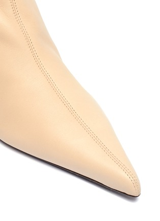 Detail View - Click To Enlarge - THE ROW - 'Bourgeoise' leather booties