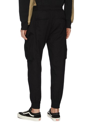 Back View - Click To Enlarge - INDICE STUDIO - Cargo jogging pants