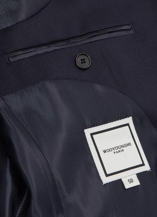 - WOOYOUNGMI - Notched lapel blazer