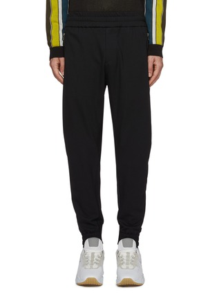 Main View - Click To Enlarge - WOOYOUNGMI - Zip pocket twill jogging pants