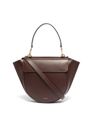 Main View - Click To Enlarge - WANDLER - 'Hortensia' medium leather shoulder bag