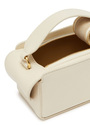 Detail View - Click To Enlarge - WANDLER - 'Yara' mini leather top handle box bag