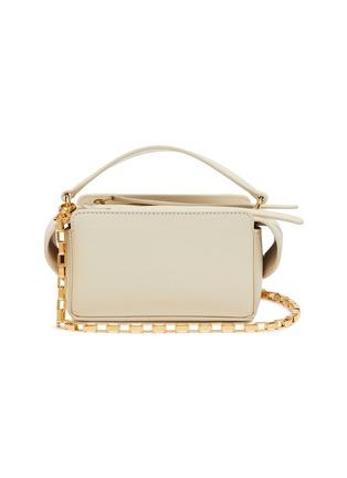 Main View - Click To Enlarge - WANDLER - 'Yara' mini leather top handle box bag