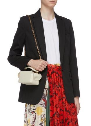 Figure View - Click To Enlarge - WANDLER - 'Yara' mini leather top handle box bag