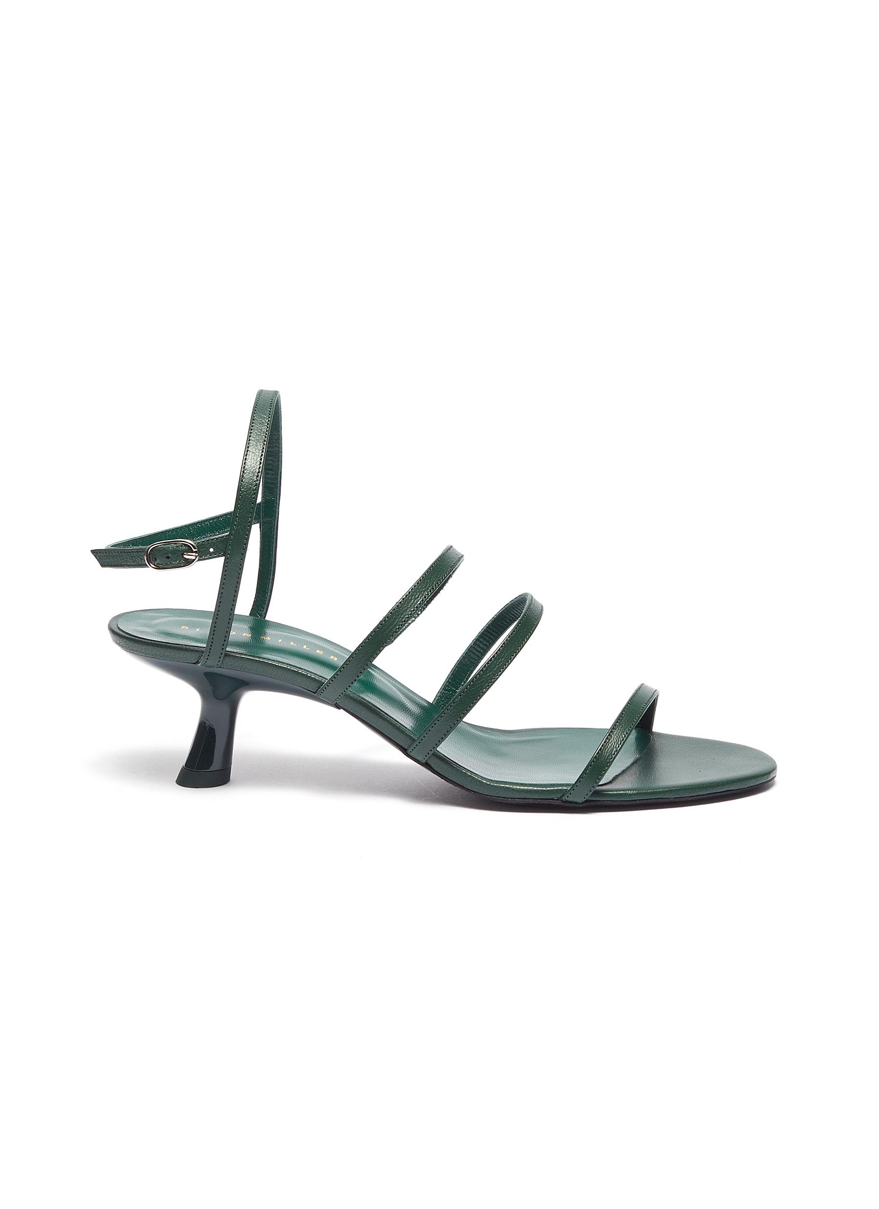 Strappy Tee 45 leather sandals by Simon Miller