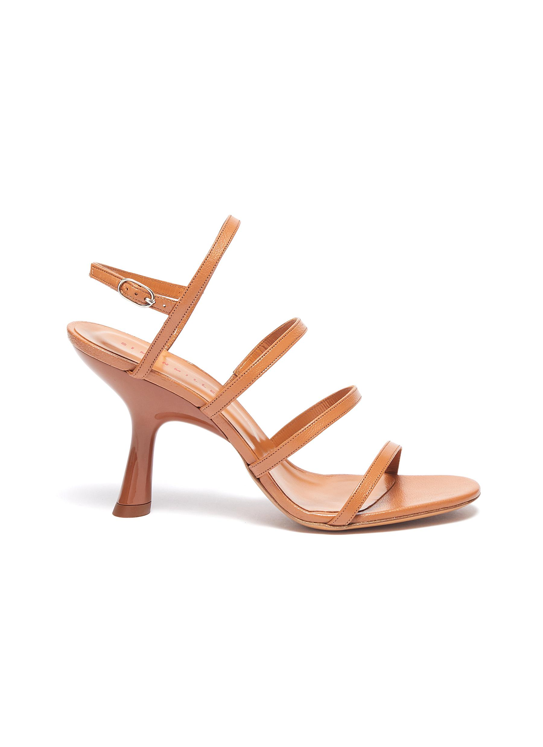 Strappy Tee 95 leather sandals by Simon Miller