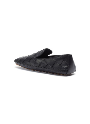 - BOTTEGA VENETA - Intrecciato woven leather loafers