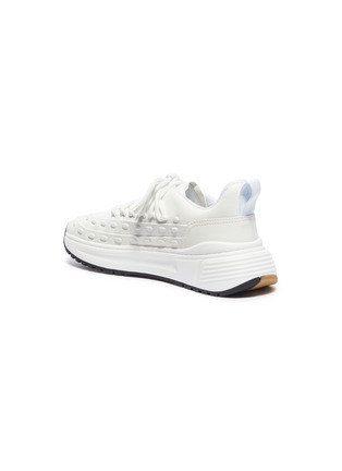 - BOTTEGA VENETA - 'Lace Speedster' chunky outsole leather sneakers