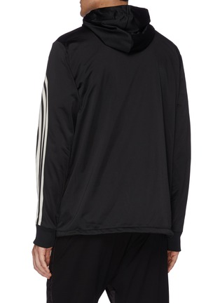 Back View - Click To Enlarge - Y-3 - 3-Stripes hooded track jacket