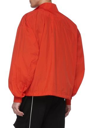 Back View - Click To Enlarge - Y-3 - Half zip stripe front pocket shell track jacket