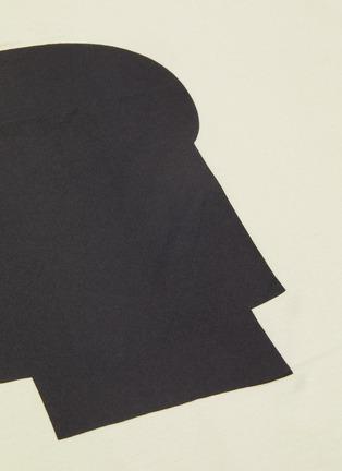 - Y-3 - Geometric logo print T-shirt