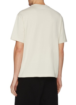 Back View - Click To Enlarge - Y-3 - Geometric logo print T-shirt