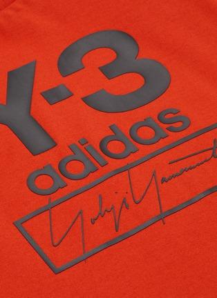 - Y-3 - Mix logo print T-shirt