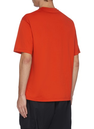 Back View - Click To Enlarge - Y-3 - Mix logo print T-shirt