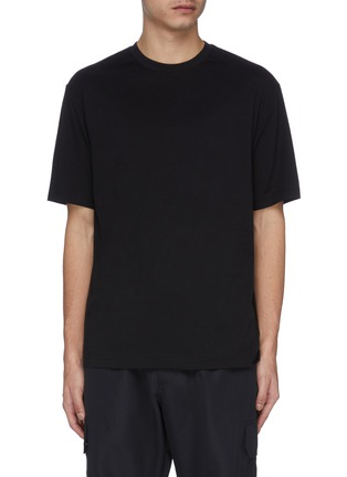 Main View - Click To Enlarge - Y-3 - 'Toketa' floral logo print T-shirt