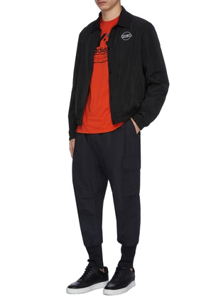 Figure View - Click To Enlarge - Y-3 - Cargo jogging pants