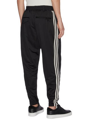 Back View - Click To Enlarge - Y-3 - 3-Stripes outseam track pants