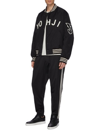 Figure View - Click To Enlarge - Y-3 - 3-Stripes outseam track pants