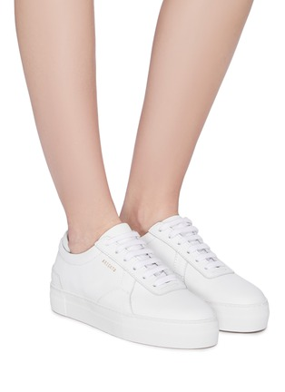 Axel Arigato Platform Leather Patchwork Sneakers