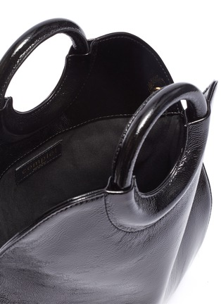 02c828ae Detail View - Click To Enlarge - COMPLÉT - 'Neomi' mini patent leather tote
