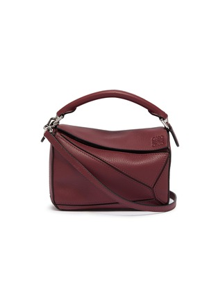 Main View - Click To Enlarge - LOEWE - 'Puzzle' mini leather bag