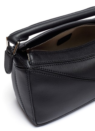 Detail View - Click To Enlarge - LOEWE - 'Puzzle' mini leather bag