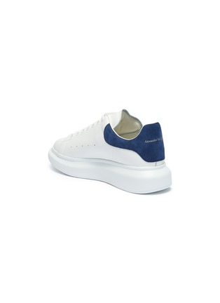 - ALEXANDER MCQUEEN - 'Oversized Sneakers' in leather with suede collar
