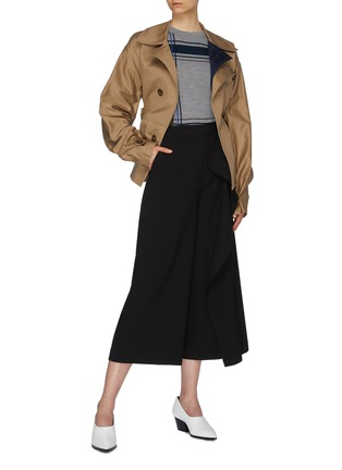Figure View - Click To Enlarge - PORTSPURE - Belted trench jacket