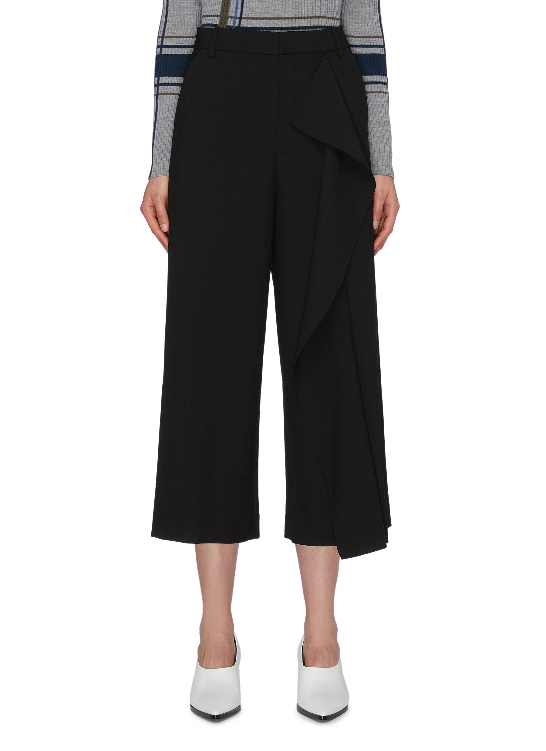 Drape panel culottes by Portspure