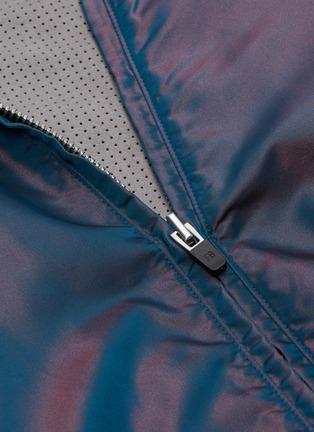 - FEAR OF GOD - Nylon zip hoodie