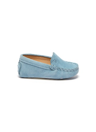 Main View - Click To Enlarge - TOD'S - 'Gommini' infant loafers