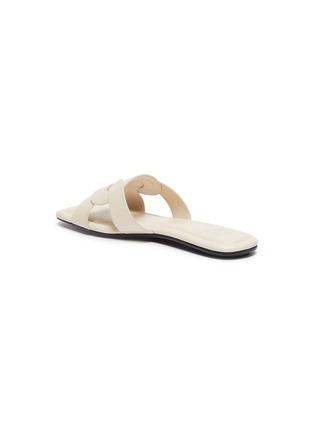 - PEDDER RED - 'Cameron' loop leather slide sandals