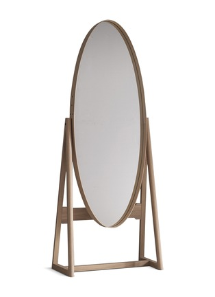 Main View - Click To Enlarge - PINCH - Iona tall cheval – White Oiled Oak