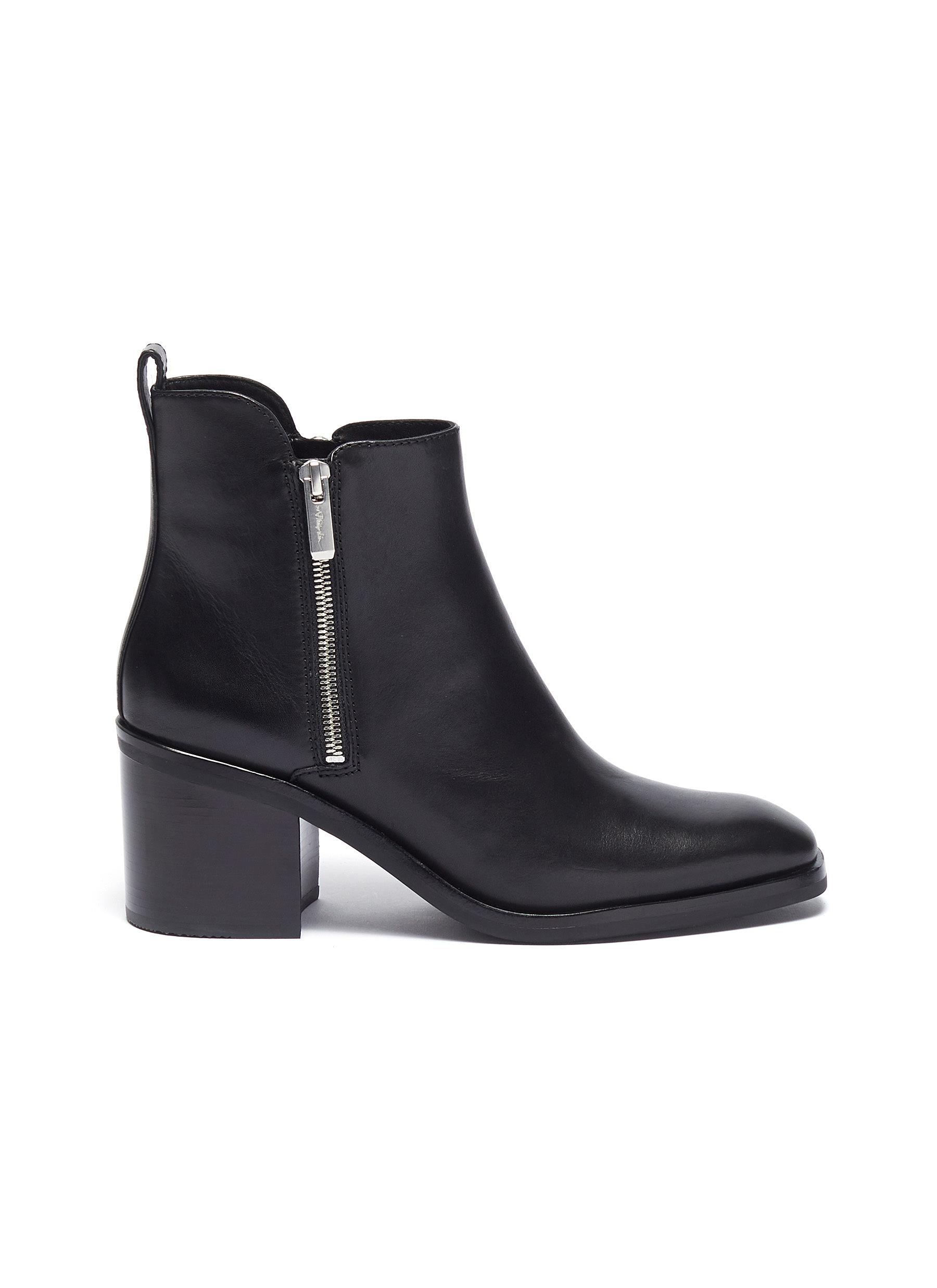 Alexa 70 water resistant leather ankle boots by 3.1 Phillip Lim