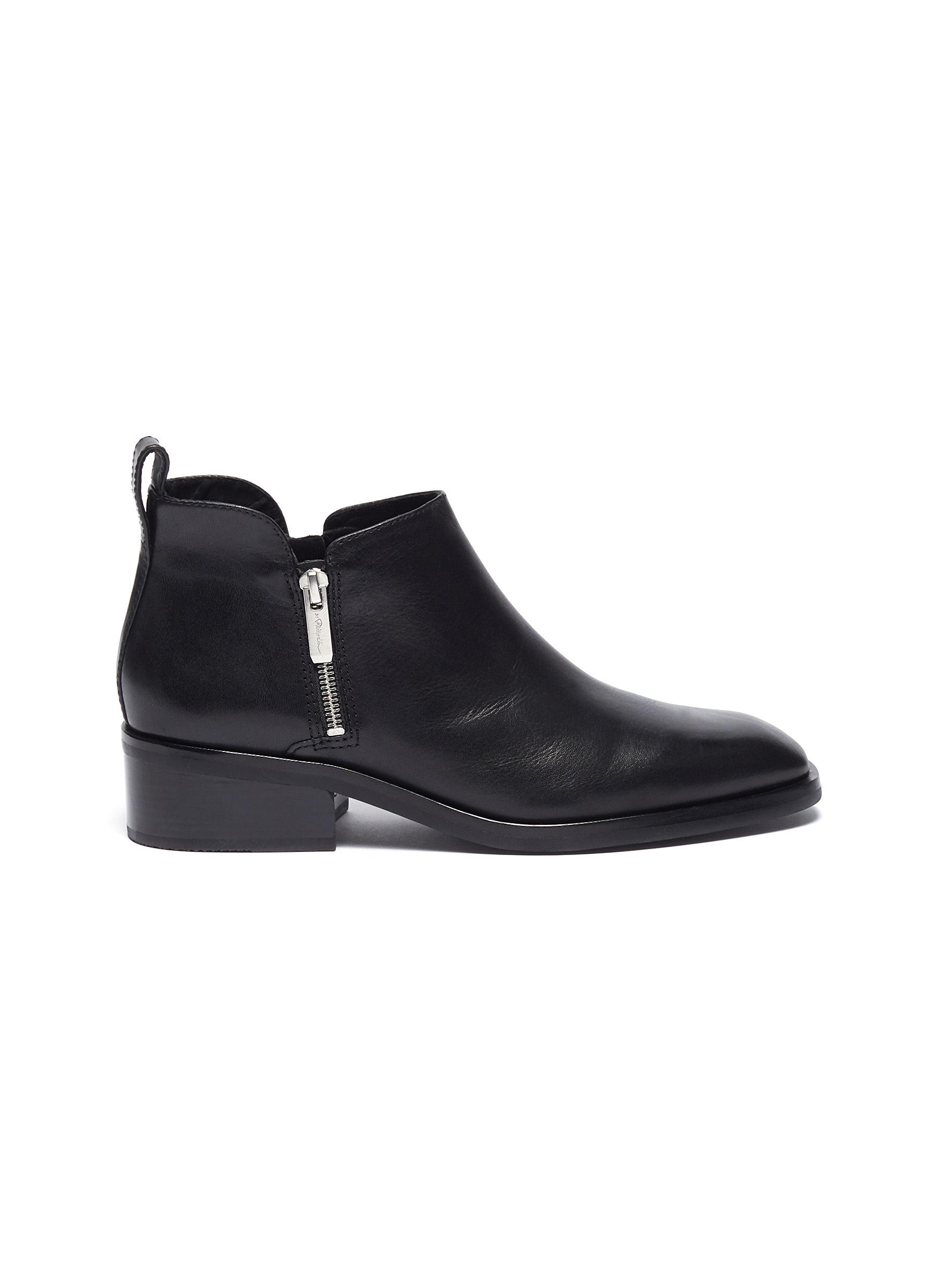 Alexa 40 water resistant leather ankle boots by 3.1 Phillip Lim