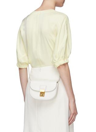 Front View - Click To Enlarge - 3.1 PHILLIP LIM - 'Pashli Saddle Mini' leather belt bag
