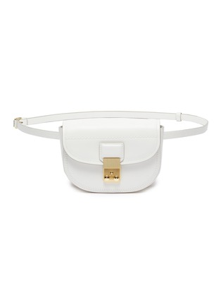 Main View - Click To Enlarge - 3.1 PHILLIP LIM - 'Pashli Saddle Mini' leather belt bag
