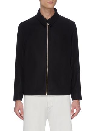Main View - Click To Enlarge - CASABLANCA - Zip shirt jacket