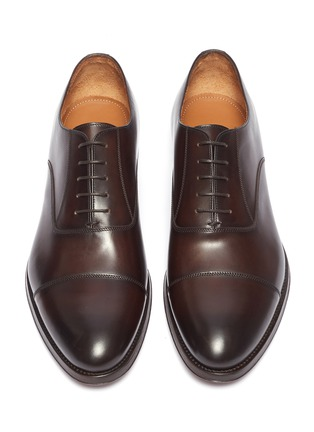Detail View - Click To Enlarge - ANTONIO MAURIZI - Leather Oxfords