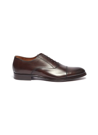 Main View - Click To Enlarge - ANTONIO MAURIZI - Leather Oxfords