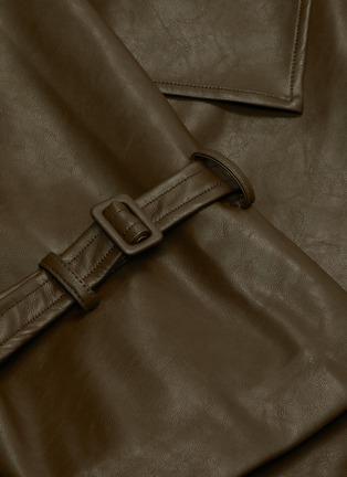 - KIMHĒKIM - Belted double-breast jacket